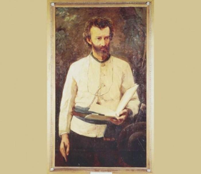 Портрет Н.Н. Миклухо-Маклая. Алексей Корзухин, 1886 год. | Фото: unification.com.au.
